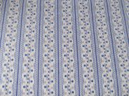 Blue Ridge - 115 cm - Cream Dotted Stripe
