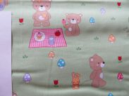 Teddy Bear s Picnic - 115 cm - green teddy main